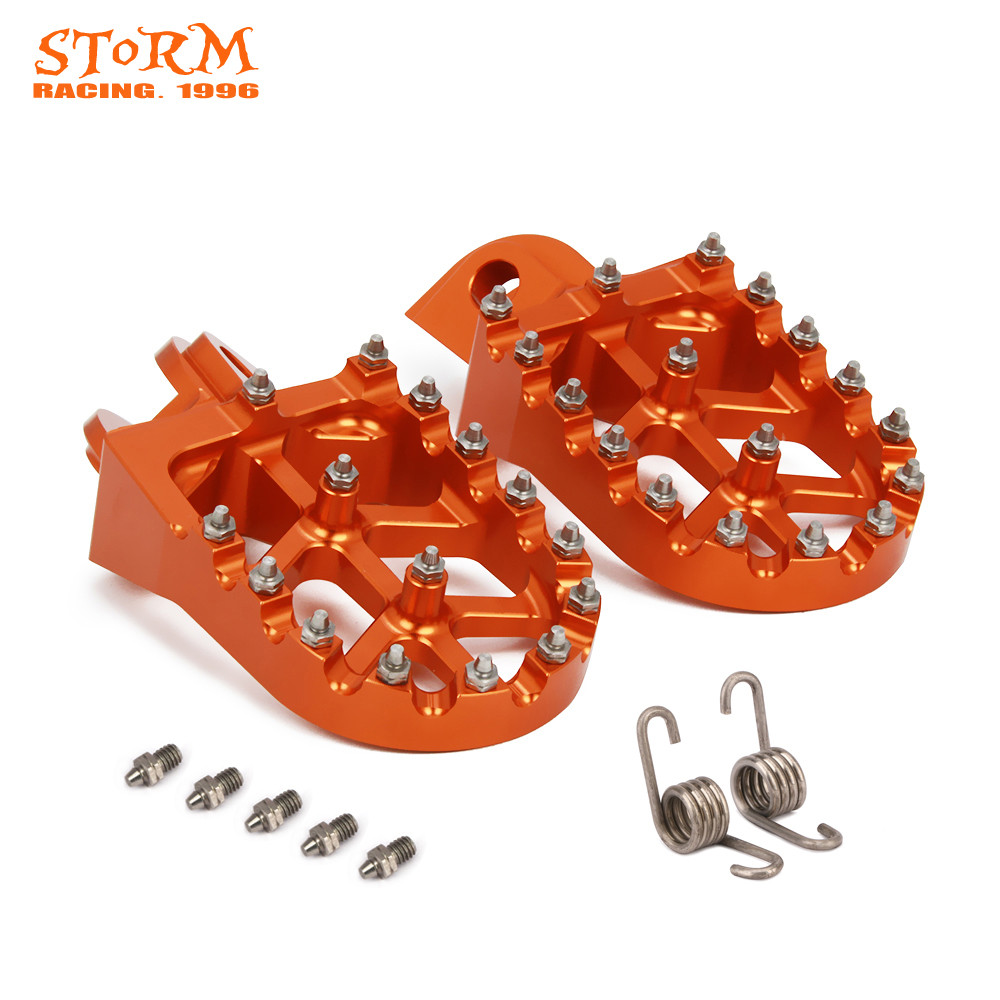 Foot Pegs FootRest Footpegs Rests Pedals For KTM SX SXF EXC EXCF XC XCF XCW XCFW 65 85 125 150 200 250 300 350 -1290 ADVENTURE