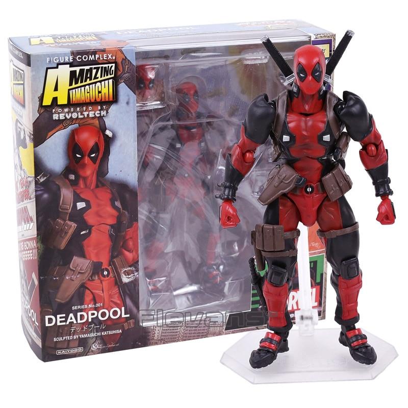 SCI-FI Revoltech Series 001 Deadpool PVC Action Figure Collectible Model Toy miele g 1143 sci