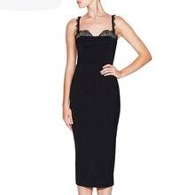 INDRESSME exy Lace Slash Neck Backless Women Party Dress Fashion Spaghetti Strap Bodycon Solid Women Dress Vestidos 2018