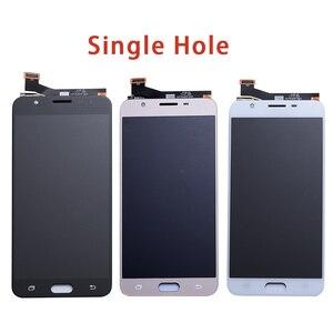 Image 4 - LCD Ersatz voll Digitizer Für Samsung Galaxy J7 Prime G610 G610F On7 2016 G6100 Display Touch Screen Doppel Löcher