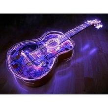 Алмазная живопись yikee с изображением гитары алмазная k124