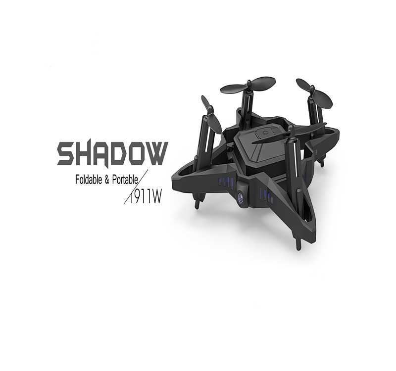 Wifi Real-time Transmission Quadcopter Foldable Drone T-911w 2.4g 4ch 6axis selfile portable attitude hold radio control drone