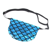 2019 New Fashion Womens Fanny Pack Sequins Waist Bum Storage Bag Cosmetic Bags Belt Pouch black sequins embellished bum bag with waist belt