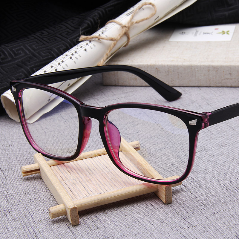 Computer Glasses 2018 Spectacle Frames Anti Blue Light Goggles Eyeglasses Frame Women Clear Lens Optical Glasses Oculos de grau