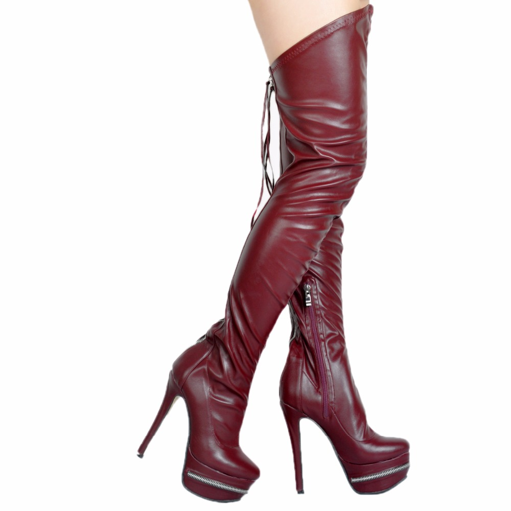 Thigh High Gladiator Heels Size 11 Promotion-Shop for Promotional ...