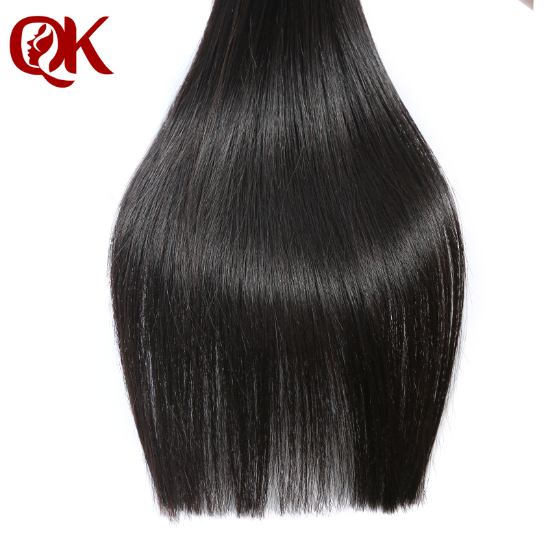 QueenKing Hair Peruvian Remy Hair weft Silky Straight Nature Color 100% Human Hair Bundles Weave on 100 grams per piece-in Hair Weaves from Hair Extensions & Wigs    2