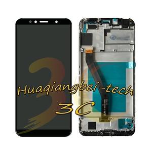 Image 4 - 5.7 Nuovo Per Huawei Honor 7A Pro AUM L29 DIsplay LCD Touch Screen Digitizer Assembly + Telaio di Copertura Per Huawei honor 7C AUM L41