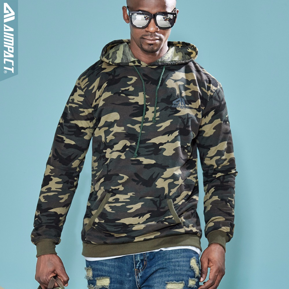 Molletonnés Camo Camouflage Pour Vêtements Et Unisexe Hommes Marque Pulls Femmes Occasionnels Hoodies Am4033 Aimpact Mode Coton 0xHTff