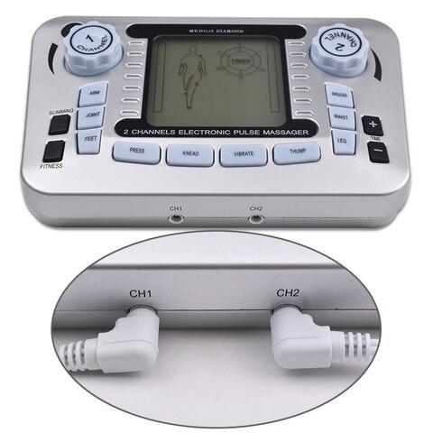 corpo digital massageador pulso dezenas acupuntura baixa