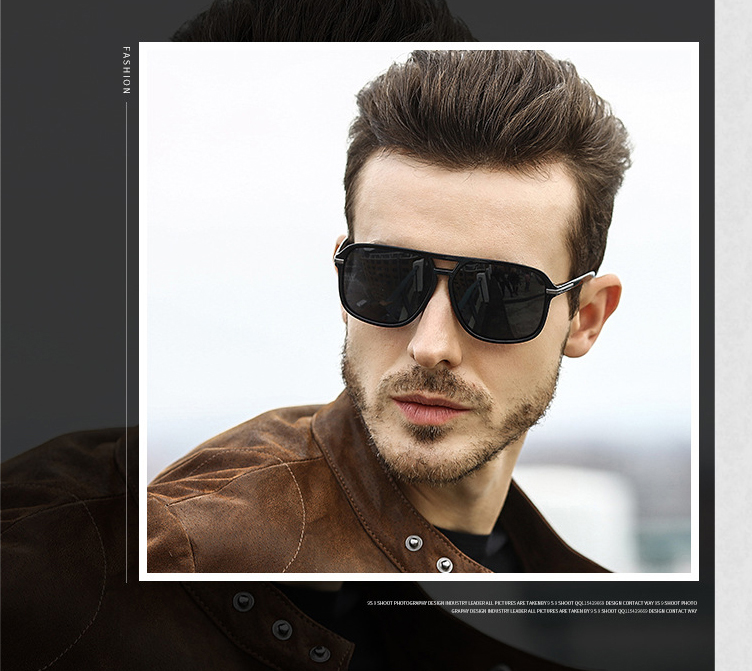 Men Cool Gradient Sunglasses