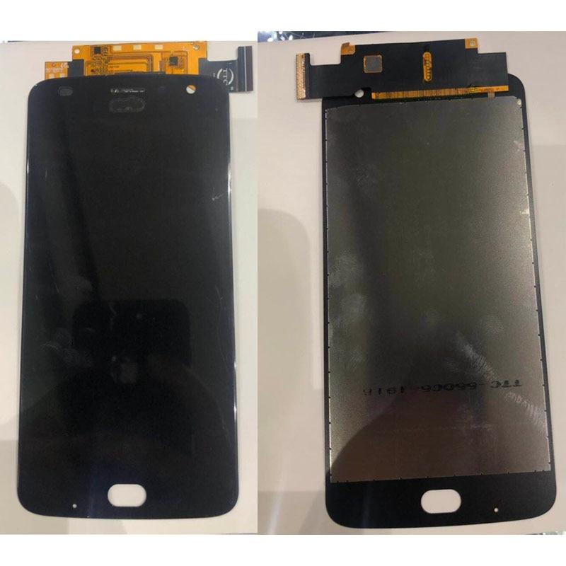 Exibição Para Motorola Para Moto Z2 jogar XT1710 XT1710-01 LCD Screen Display Toque Digitador Assembléia Peças de Reposição