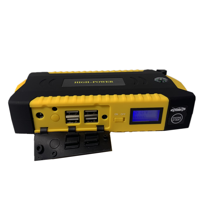 Démarreur de saut de voiture Portable 16000 mah batterie externe 12 V Booster de batterie de voiture de secours pour les cadeaux de fête des pères dispositif de démarrage - 4