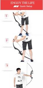 Image 5 - 40 libras caça arco tiro com arco americano caça tiro para novo iniciante para acessórios especializados