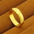 Новое поступление! Модное 24K GP Золотое мужское и женское Ювелирное кольцо желтое Золотое кольцо на палец YHDR018 - фото
