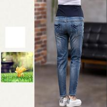 GB-Kcool Maternity Jeans For Pregnant Woman 2017 Pregnancy Pants Elastic waist Pregnancy Clothes Plus Size Black Jeans Pregnant