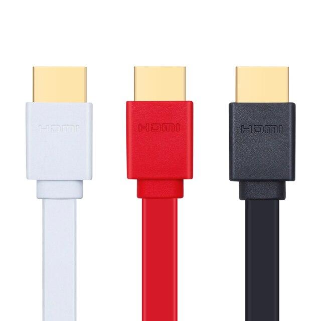 Cá phổi tốc độ Cao cáp HDMI DẸT Hỗ Trợ 3D Độ Phân Giải Ethernet 1080 P Âm Thanh Trở Lại 0.3 M 1 M 1.5 M 2 M 3 M 5 M 7.5 M 10 M 15 M