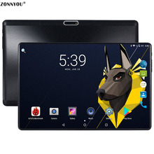 Update 10.1 inch Tablet PC 3G Calling 4GB/32GB Dual SIM Dual Camera Android 8.0 Octa Core Card Wi-Fi Bluetooth GPS FM PC 10.6