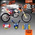 Индивидуальные Команды KTM Графики Фона Наклейки 3 М Наклейки Наборы Для KTM EXC125 SX SXF 250 450 525 1998-2017 Бесплатная Доставка