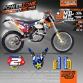 Customized KTM Team Graphics Backgrounds Decals 3M Stickers Kits For KTM SX SXF EXC125 250 450 525 1998-2017 Free Shipping