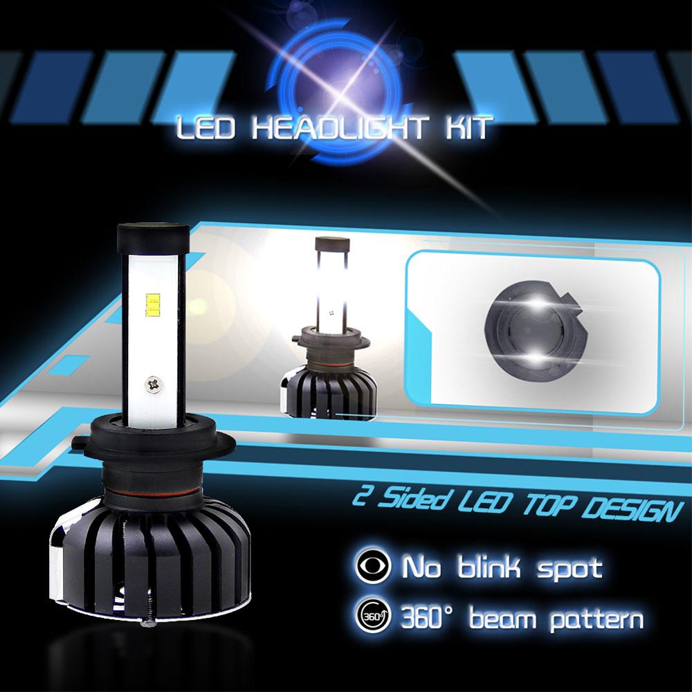 Светодиодный фонарь 2 шт., светодиодный противотуманный фонарь, запасная передняя фара, универсальный автомобильный Стайлинг, освещение в сборе