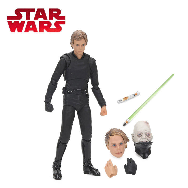 6inch Star Wars Toy Episode VI Return of the Jedi Luke Skywalker PVC Action Figure Anime Figures Collection Model Dolls Toys Box solar energy cartoon character pvc abs star style action figure toy home office decoration 2 inch