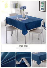 Modern tablecloth Household modern decorative Dirt-resistant, skid-proof and waterproof