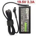 19.5 В 3.3A 65 Вт Ноутбук Адаптер Переменного Тока Зарядное Устройство для Sony VAIO VGP-AC19V43/VGP-AC19V44 VGP-AC19V48 VGP-AC19V49 VGP-AC19V63 VPC-CW