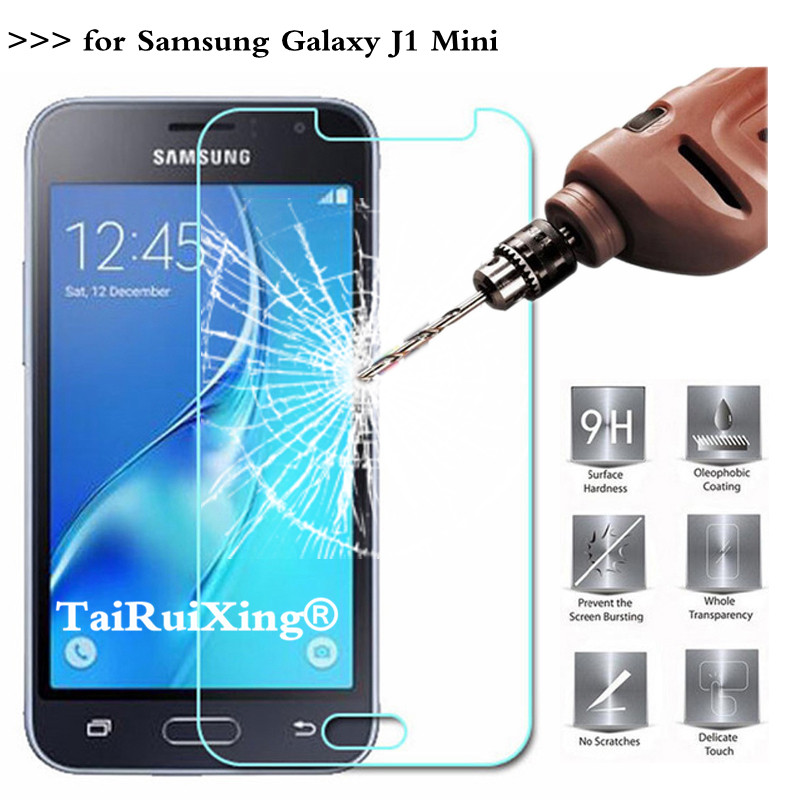9H 2.5D 0.26 mm Tempered Glass Screen Protector For <font><b>Samsung</b></font> <font><b>Galaxy</b></font> <font><b>J1</b></font> <font><b>Mini</b></font> J105 J1Mini 2016 <font><b>SM</b></font>-<font><b>J105H</b></font> <font><b>J1</b></font> <font><b>Mini</b></font> Protective Film image