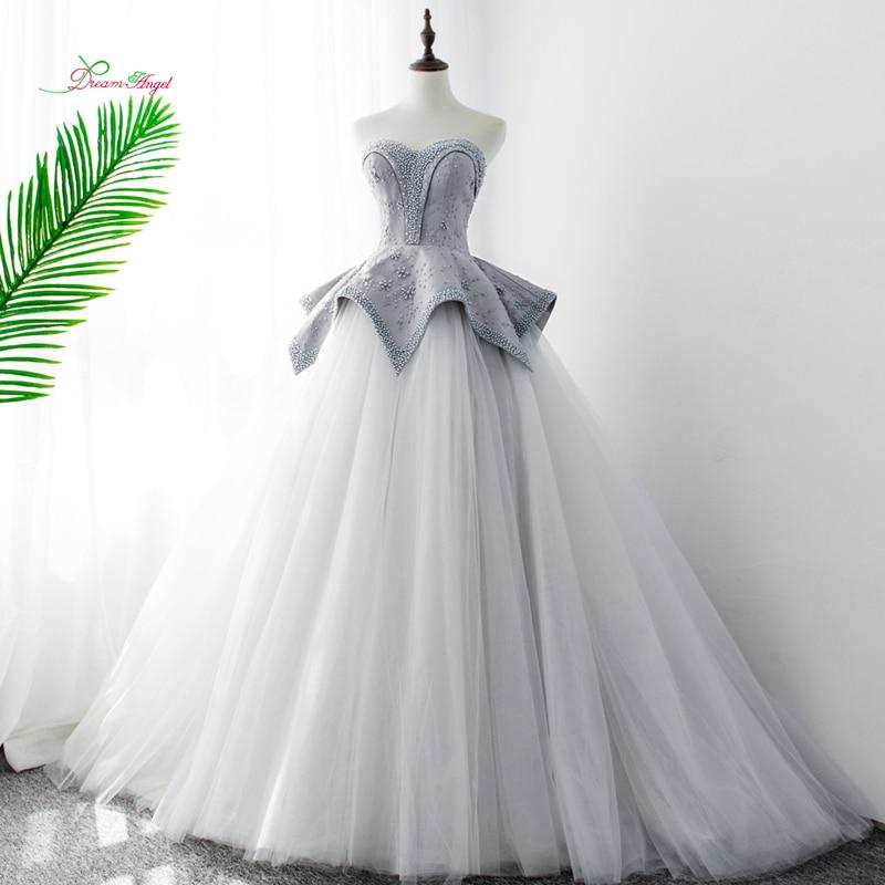 Dream Angel Sexy Backless Sweetheart Lace Wedding Dresses 2019 Beaded Ruffles A Line Bride Gowns Vestido De Noiva Plus Size