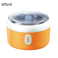 LSATCHi 1.2L Full Automatic Yogurt Maker Electrical Fermentation Multifunctional Machine Large Capacity Stainless Steel