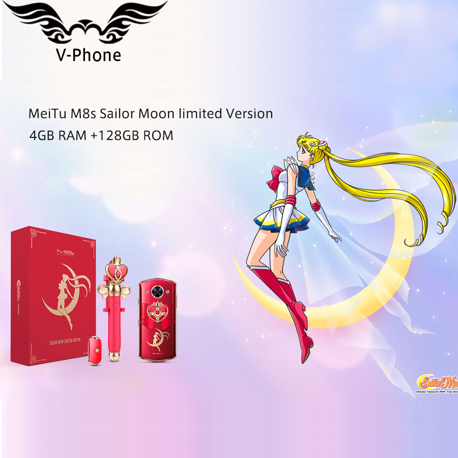 "Original New Meitu M8s 4G LTE Mobile Phone 5.2"" 4GB 64GB MT6797X Deca Core 2.5 GHz Android 7.1 Dual Front Camera 3000mAh Phone"