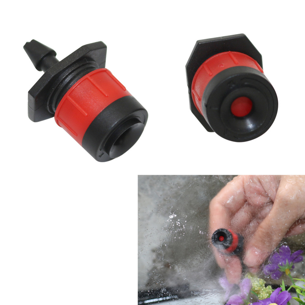 20 Pcs Adjustable 360 Degree Scattering Yongquan Sprinklers Garden Irrigation Agriculture Sprayers Nozzles 4/7mm Hose Interface