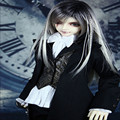 BJD Doll suit black pigeons sd13 sd17 soom