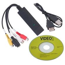 Vhs video capture dvr тв card конвертер dvd аудио пк адаптер
