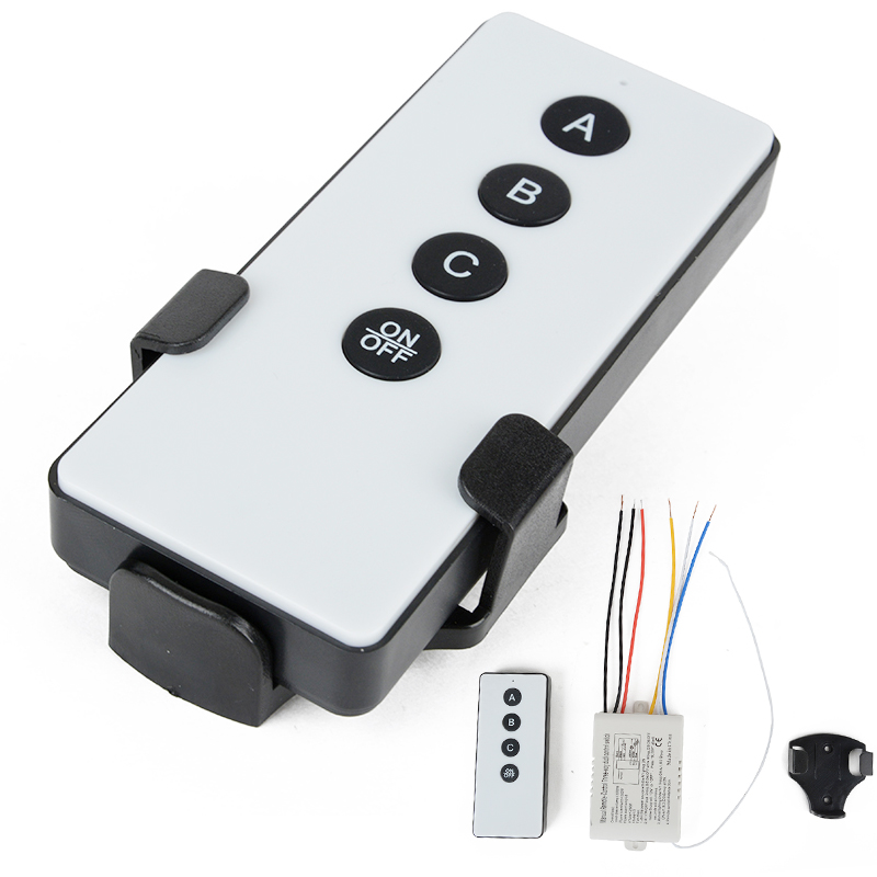 Mayitr 3 Way ON/OFF Wireless Remote Control Switch Digital Remote Control Switch Receiver Transmitter for LED Light Lamp 220V 220v ac 10a relay receiver transmitter light lamp led remote control switch power wireless on off key switch lock unlock 315433