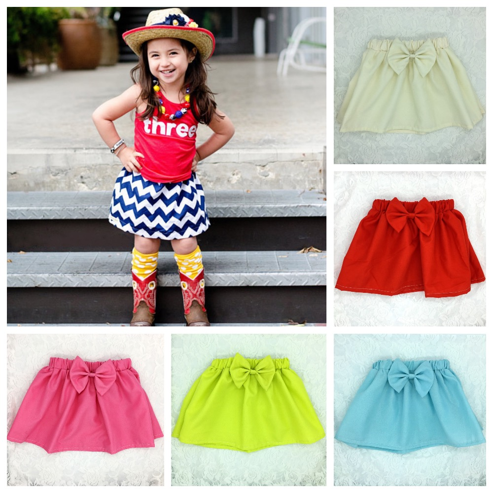 Hot-Retail-Baby-Skirts-Infant-Chevron-Zigzag-Print-Mini-Skirts-Summer-Cotton-Pettiskirt-with-Big-Bow-Newborn-Casual-Beach-Skirts-5