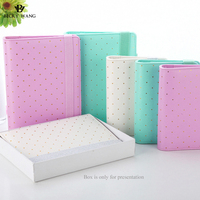 2016 Latest Creative Notebook Mint White Lilac A5 Planner Elastic Organizer Books Diary Agenda Free Shipping