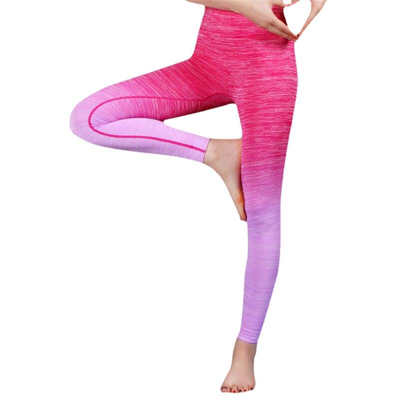 Fitness Nineth Pants Yoga Leggings For Female Women Yoga Clothing Sports Pants Legging Tights Workout Sport Fitness Bodybuilding