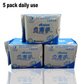 5 pack Anion pads love moon anion sanitary pads daily use 100% cotton Don't add fluorescent agen menstrual pads