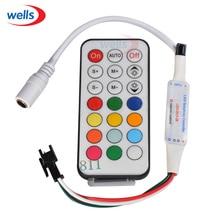 New 21 key IR controller for led strip WS2811 1903 WS2812B Module DC5V