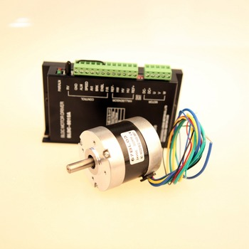 Brushless motor DC 57BL03 3 Phases 52W 24V 3000RPM DC Driver BLDC-8015A  for Car Peristaltic pump LONGS MOTOR