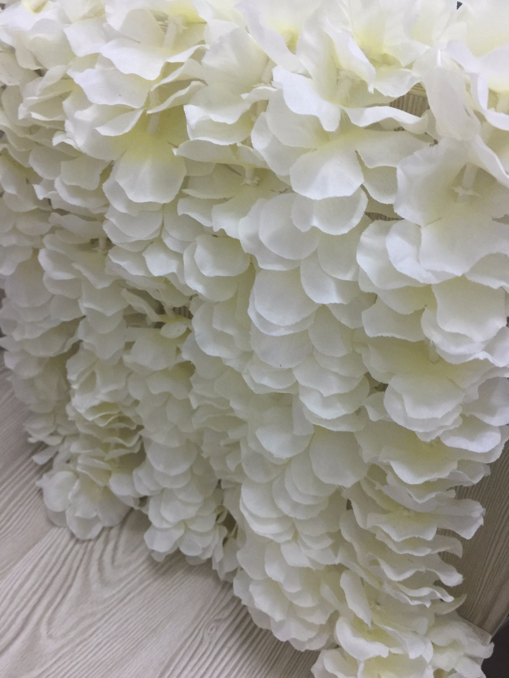 Apricot Encrypted Natural Vertical Silk Flower String For Wedding