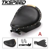 Motorcycle Solo Seat Baseplate & Springs & Bracket Mounting Kit