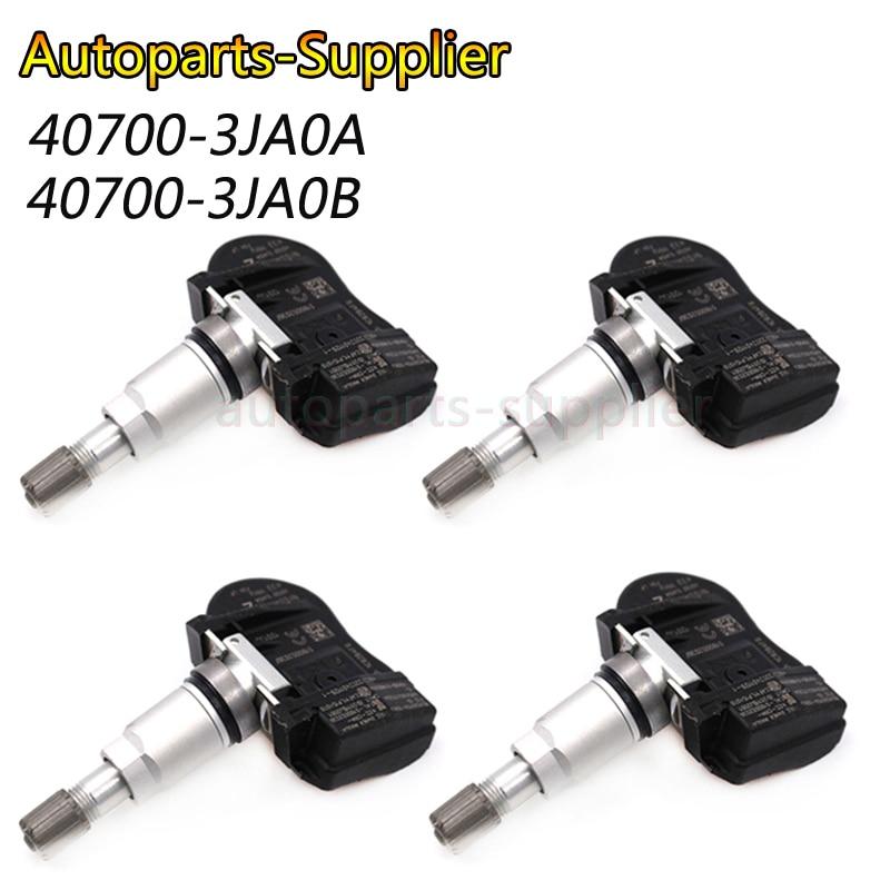 4pcs NEW 433MHZ Car Tire Pressure Sensor TPMS For Nissan Infiniti OEM 40700 3JA0A 407003JA0A 40700