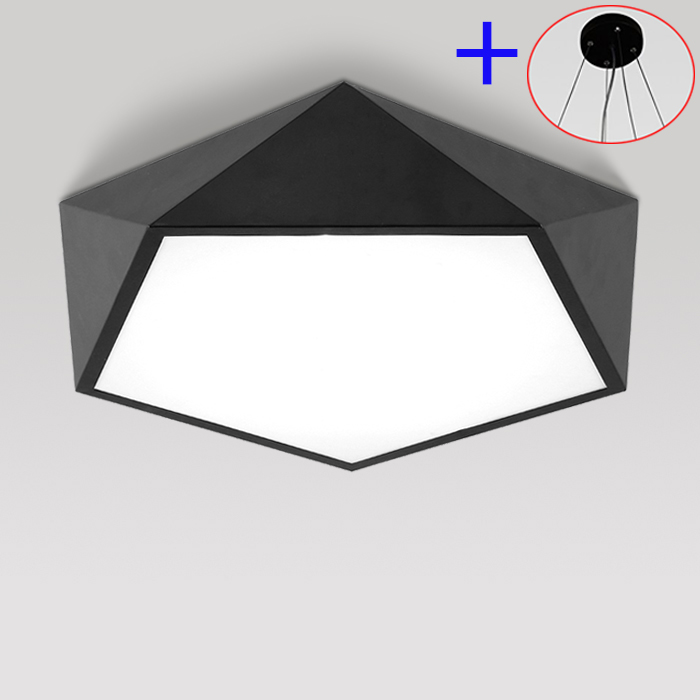 Ceiling lights indoor lighting Creative arc triangle acrylic lamp modern led ceiling lights for living room lamps for home vemma acrylic minimalist modern led ceiling lamps kitchen bathroom bedroom balcony corridor lamp lighting study