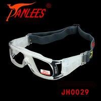 Hot koop panlees professionele pc impact beschermende bal spel shield goedkope goggles bril match optische lens volwassen uit china