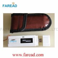 x1pc  RFID Microchip mini  reader  for dog,cat ,mouse turtle,arowana,snake etc+x100pcs Free Shipping  1.25*7mm Pet Syringe