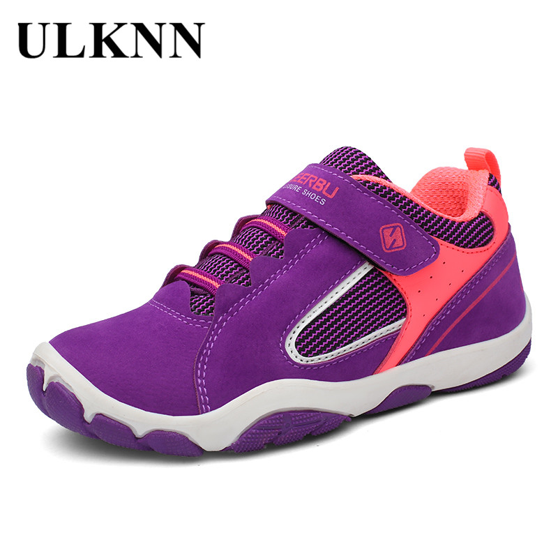 ULKNN Sport Girls Shoes For Boys Sneakers Kids Casual Shoes Running Children Shoe Breathable Mesh Fabric Leather School Footwear comfy kids mesh children shoes sports autumn footwear baby toddler breathable girls boys sport shoe non slip kids sneakers shoes