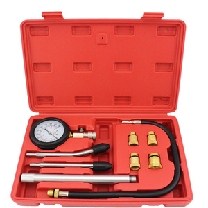 Image 1 - Automotive Tools Engine Cylinder Compression Tester Kit With Extension Bar Auto Engine Diagnostic Tool M10 M12 M14 M18