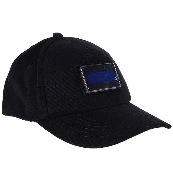 Moda LED Lighted brilho Club Party esportes atlético negro tecido viagens Hat Cap texto matriciais rolagem mensagem de exibição Cap